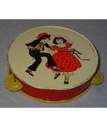 Old Vintage Kirchhof Dancing Children Tamborine Noise Maker - $17.95