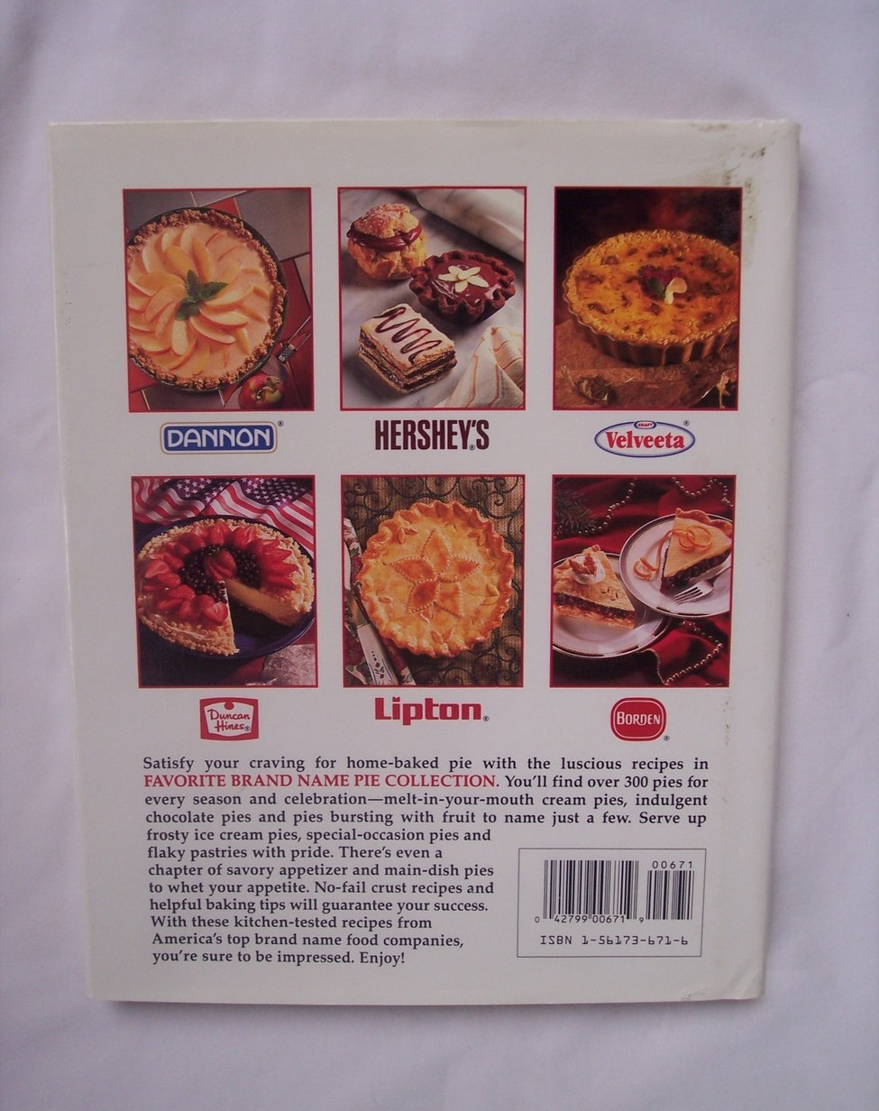 Favorite Brand Name Pie Collection