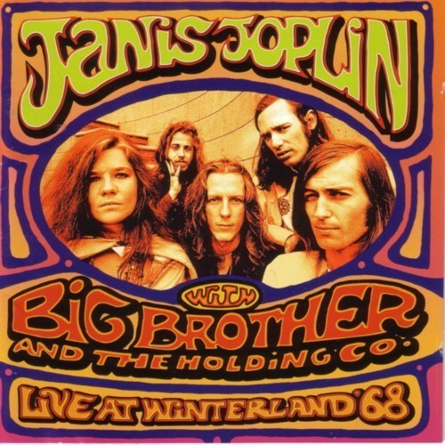 Cd cover joplin live at winterland