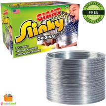 The Original Giant Slinky Walking Spring Toy Metal Slinky Fun Game Ages ... - $15.99