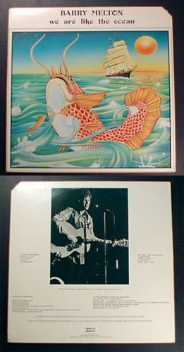 BARRY MELTON We Are Like the Ocean 1977 LP Country Joe & the Fish