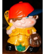 """RARE Vintage """"Sport Skwirts"""" (Jimmy Blooper) Coin Bank - $35.00"""