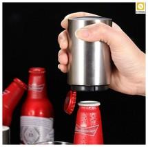 Beer Opener Kitchen Stainless Steel Bottle Opener Wine Opener Magnetic A... - $14.00