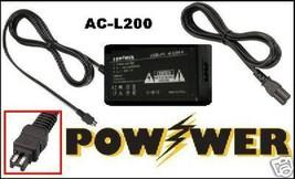 Ac Adapter For Sony Dcr Dvd305 E Dcr Dvd304 Dcrdvd205 E Hdrcx110 L Dcrsx44 E - $19.42