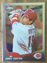 JOEY VOTTO 2013 Topps Chrome #206 Baseball Card-Cincinnati Reds OBP Machine - $5.00