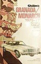 Chilton's repair and tune-up guide, Granada/Monarch, 1975-77 Chilton Boo... - $3.50