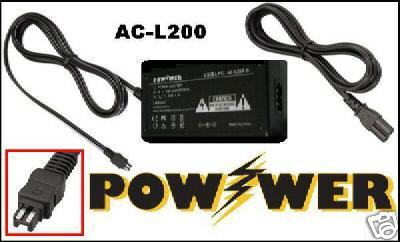 AC Adapter for Sony DCRSX34E DCR-SX34 DCRSX34 DCR-SR220D DCRSR220D HDR-CX520VE
