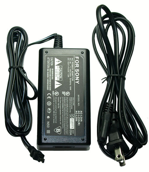 AC Adapter for Sony HDR-XR106 HDR-XR106E HDRXR106 HDRXR106E HDR-PJ50V HDR-XR160