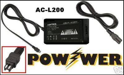 AC Adapter for Sony HDR-XR550VE HDRXR550VE