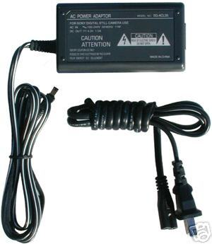 AC Adapter for Sony DCR-TRV75 HDR-AX2000 HDR-FX1 MVC-CD1000 MVC-CD200 MVC-CD250