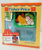 Vintage 1988 Fisher Price Fun with Food McDonald's Garden Salad #2163 NIB - $84.15