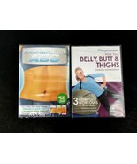 Crunchless Abs 1-3 & Weight Watchers Belly, Butt & Thighs Workout DVDs B... - $16.82