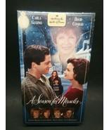 A Season for Miracles(1999-VHS)Lynn Redgrave,Patty Duke,Carla Gugino--RARE - $30.00