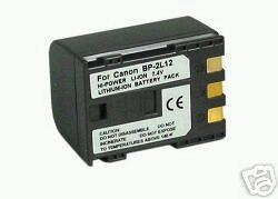 2X Batteries BP-2L12 BP-2L13 BP-2L14 for Canon DC301 DC310 DC311 DC320 DC330