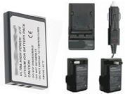 Battery +Charger for Aiptek PocketCam 8900 Z200PRO NP60