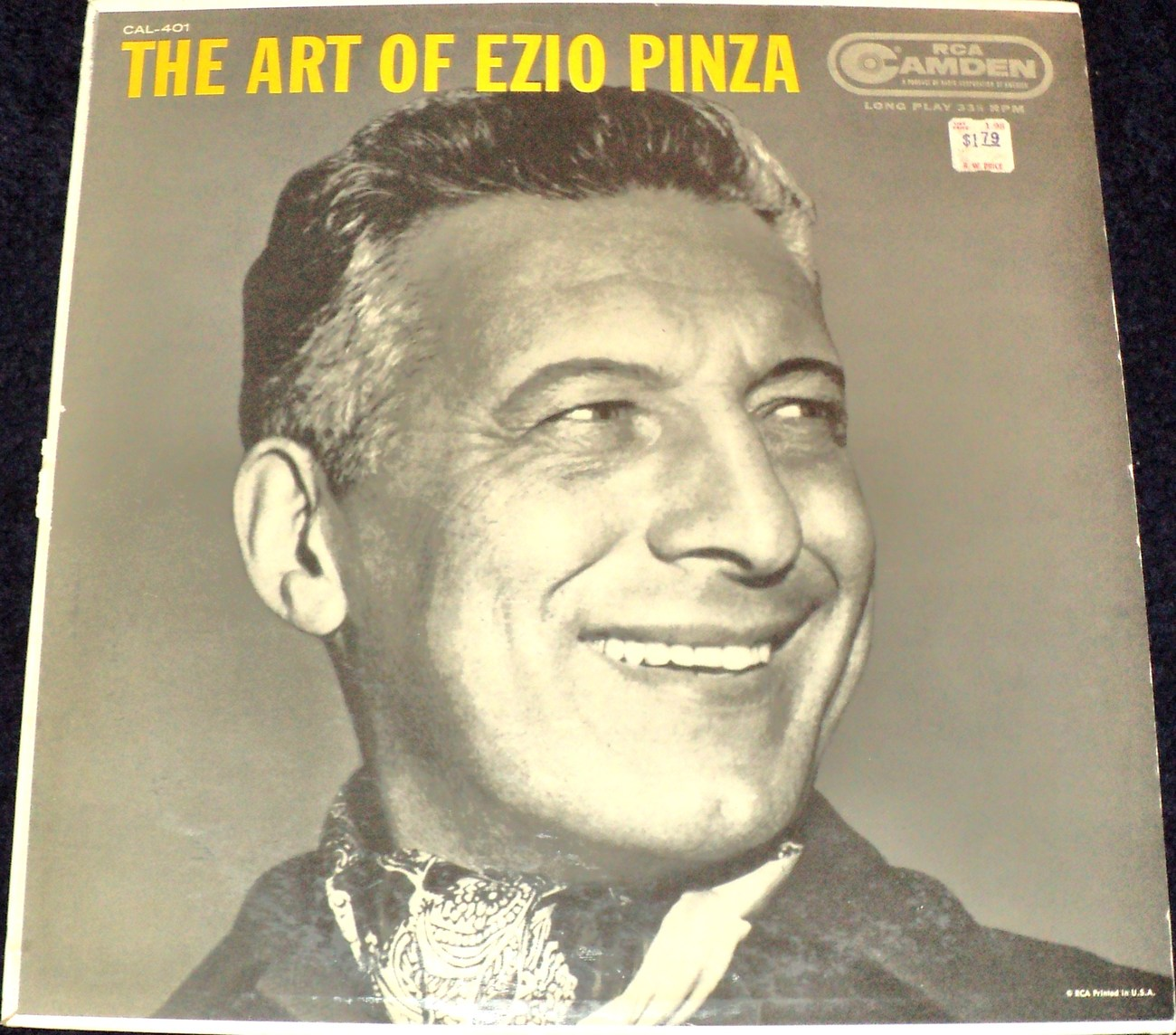 THE ART OF EZIO PINZA lp