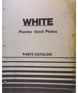 White Planter Seed Plates Parts Manual - $10.00