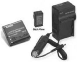 Battery + Charger for Casio EX-Z300BK EXZ300BK EX-Z300 EX-Z30 - $11.45