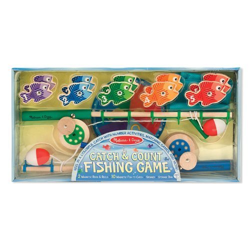 Toy Catch/Count Fish 14p