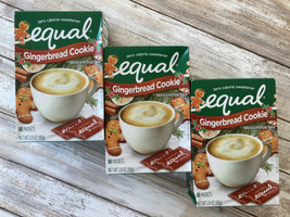 EQUAL Gingerbread Cookie Sweetener Zero Calorie 80 Packets/Ea BB9/2021 -... - $19.79