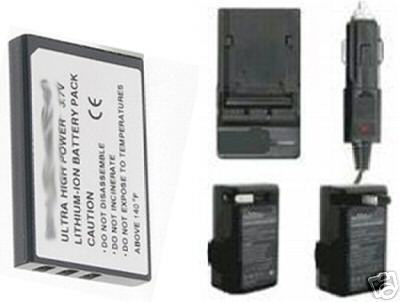 Battery + Charger for HP R827V R827XI R837