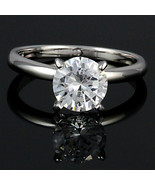 8mm 2.0c Russian Ice CZ Bridal Engagement Band Ring s 8 - $30.00