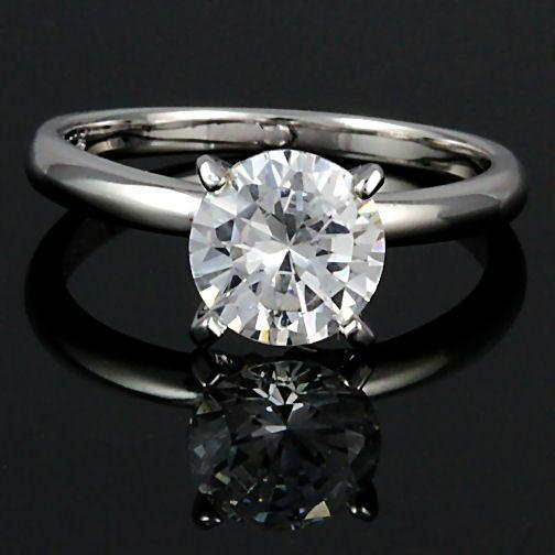 8mm 2.0c Russian Ice CZ Bridal Engagement Band Ring s 9