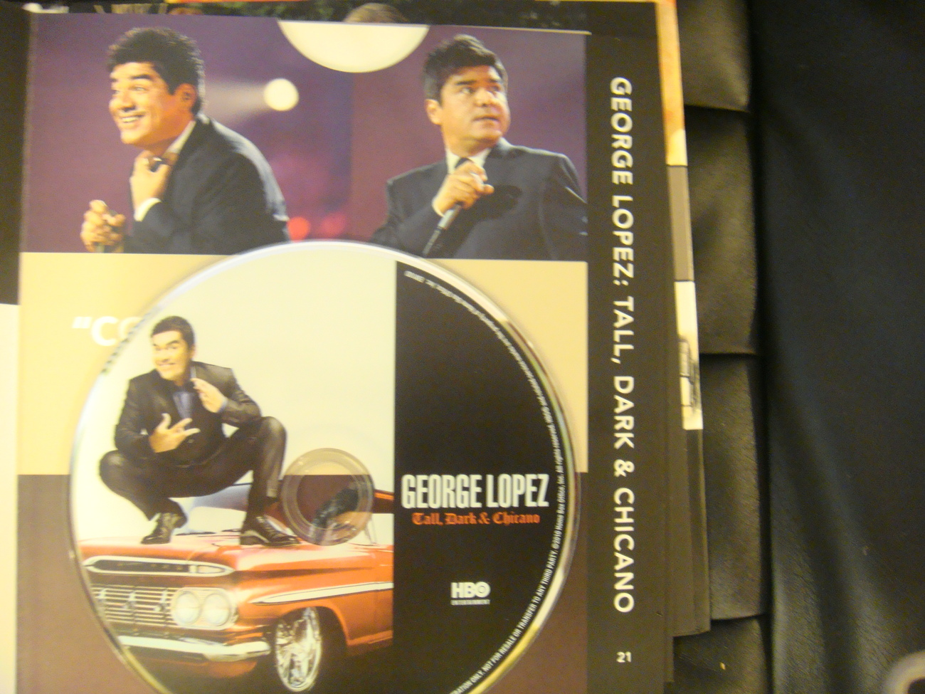 GEORGE LOPEZ TALL DARK & CHICANO EMMY DVD HBO STAND UP