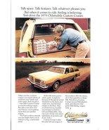 1978 Oldsmobile Custom Cruiser wagon magazine print ad - $10.00