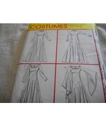 Medieval Woman's Dress Costume Pattern McCall's M4490