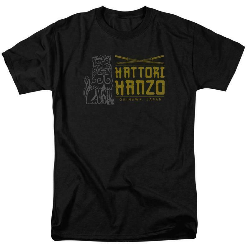 Kill Bill T-shirt Hattori Hanzo Okinawa Japan movie graphic tee MIRA111