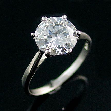Large 2.9ct Ice on Fire CZ Cocktail-Engagement Ring 9