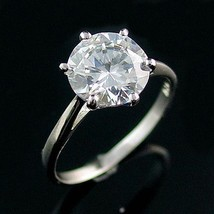 Large 2.9ct Ice on Fire CZ Cocktail-Engagement Ring 9 - $24.00