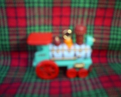 Hallmark Miniature Ornament, 1989 Noel Railroad Locomotive, 1st,   Collectible