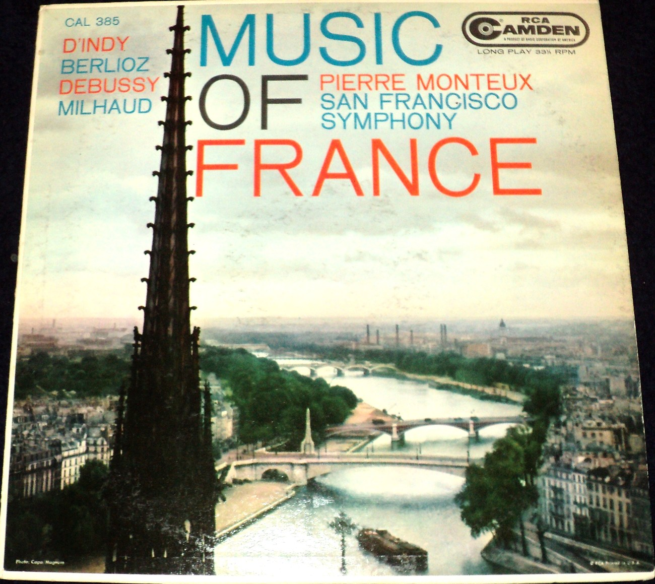 MUSIC OF FRANCE: PIERRE MONTEUX CONDUCTING THE SAN FRANCISCO SYMPHONY ORCHESTRA