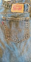 Levi's 505 Zip Fly 34 x 28 Blue Jeans 100% Cotton nicely broken In - $15.79