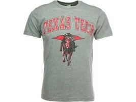 Texas Tech Raiders New Agenda  NCAA Team Mascot T-Shirt   M - XL  Gray - $18.99