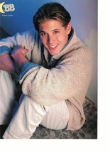 Jensen Ackles teen magazine pinup clipping sitting down Supernatural Bop
