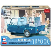 Academy 15141 T600 Tricycle Three Wheeler Truck 1969 Plastic Hobby Model Kit image 2
