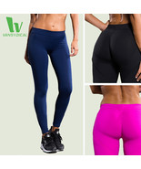 VANSYDICAL Yoga Pants Women Fitness Sexy Hips Push Up Leggings Breathabl... - $25.72