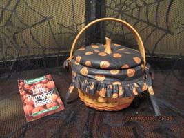 LONGABERGER BASKETS 1997 HALLOWEEN LITTLE PUMPKIN BASKET COMBO - $89.99