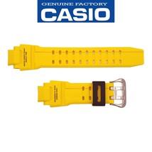 Genuine CASIO Watch Band Strap GA-1000-9B Original Yellow Rubber - $38.95
