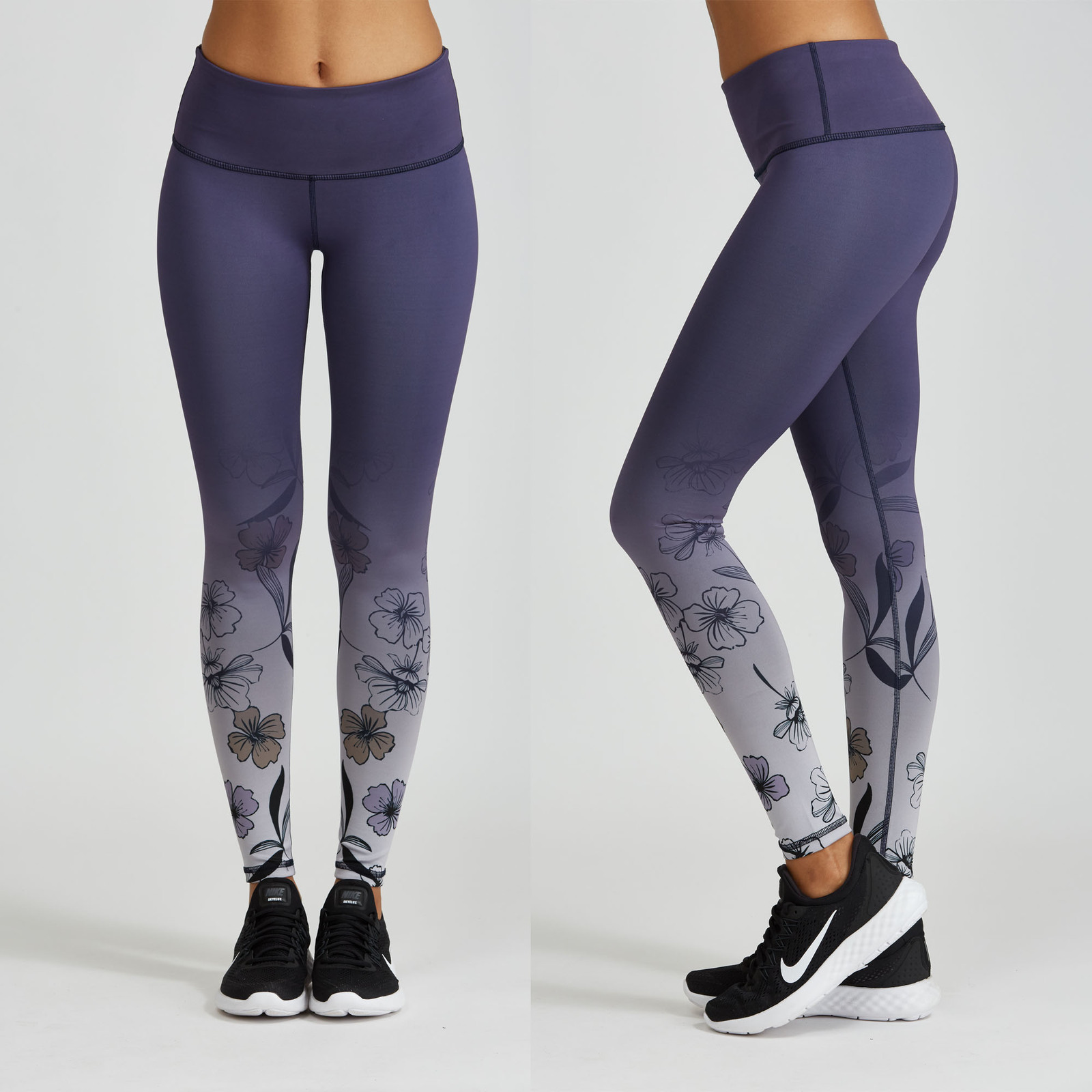 dc4f8577f859f Noli Yoga Women Performance Leggings, Wonderland- WM-ACT Activewear