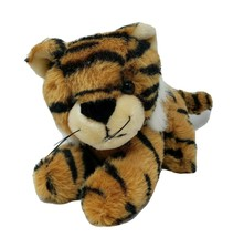 VINTAGE 1989 FIESTA BLACK & ORANGE STRIPED BABY TIGER STUFFED ANIMAL PLU... - $36.47