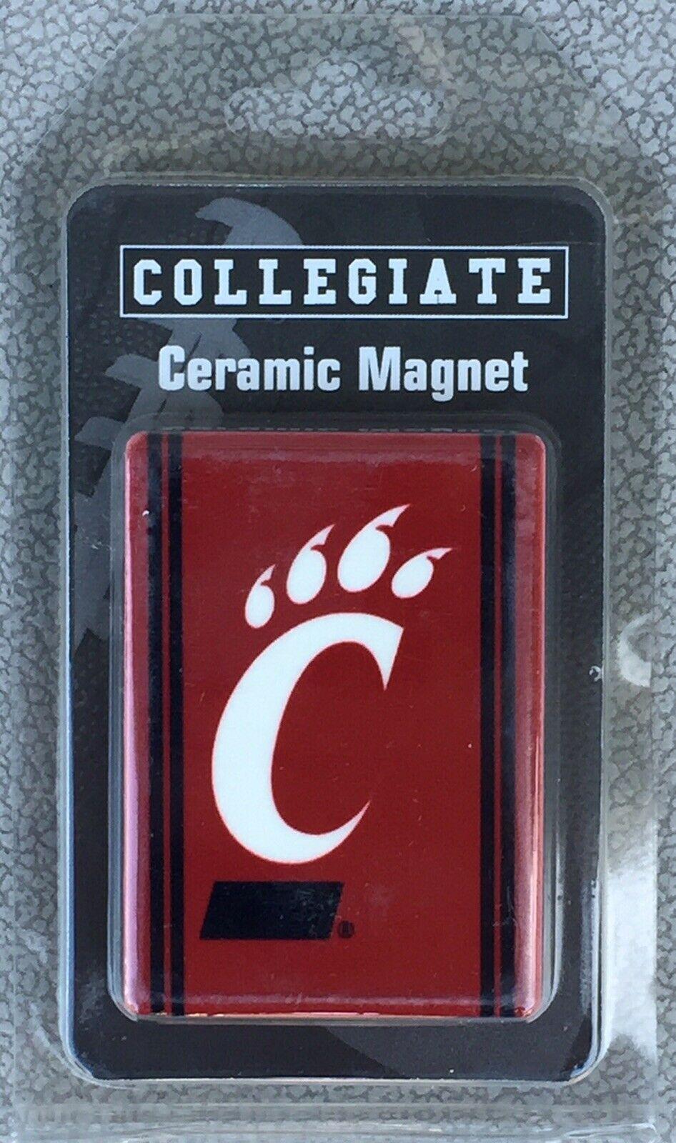Cincinnati Bearcats Red NCAA Collegiate Ceramic Refrigerator Magnet - New - $6.96