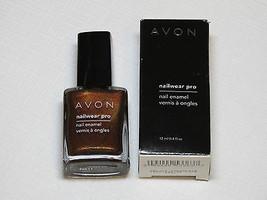 Avon Nailwear Pro Vernis à Ongles de Luxe Chocolat 12 ML 0.4 Fl oz Mani Pedi - $10.61