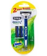 Schick Exacta2 System Kit 1 Razor + 2 Free Cartridges / Blades - Sensitive - $6.99