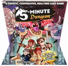 Spin Master Games 5 - Minute Dungeon Fun Card Game for Kids and Adults S... - $24.20