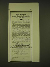 1933 John Hancock Life Insurance Ad - How will you stand financially at ... - $14.99