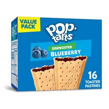 Pop-Tarts, Toaster Pastries, Unfrosted Blueberry,  16 Ct, - $7.00